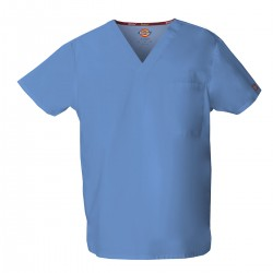 Blouse médicale unisexe col V Dickies EDS