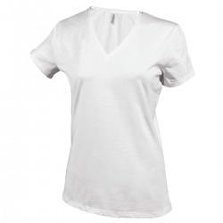 Tshirt femme col V