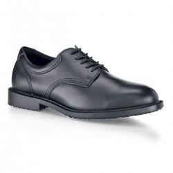 Chaussure pompes funèbres anti dérapante