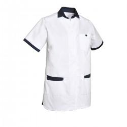 Tunique médicale col chemise
