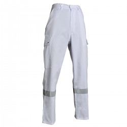 Pantalon ambulancier avec bande grise