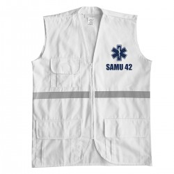 Gilet intervention samu