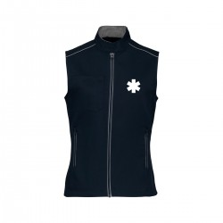 Gilet multipoches coupe femme