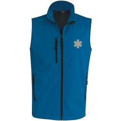 SOFTSHELL SANS MANCHES HOMME